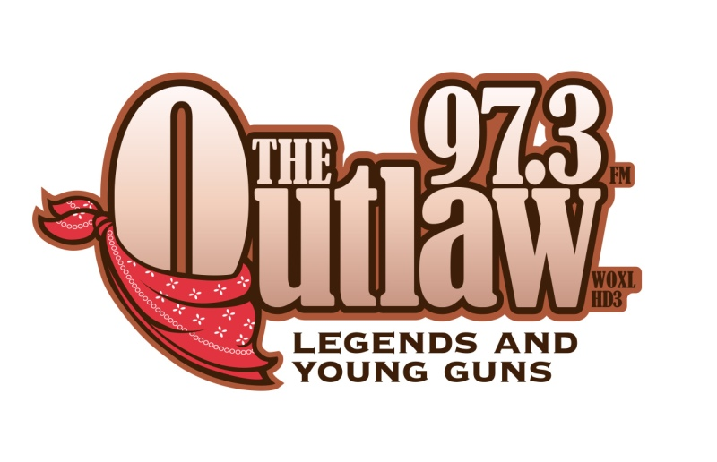 The Outlaw 97.3 Logo